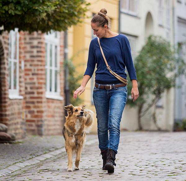 Lübecks Hunde - Emma und Bettina Hinte-Breindl in Lübeck